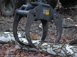 Drapáky pro hydraulickou ruku